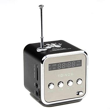 Schermo LED Elegante multifunzione Mini Speaker con radio FM