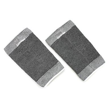 Joelheira Suporte para Esportes Protecção Respirável Facilita a dor Térmica / Warm Fitness badminton Corrida Cinzento