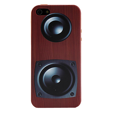 Retro Design Sound Box Pattern Soft Case for iPhone 5/5S
