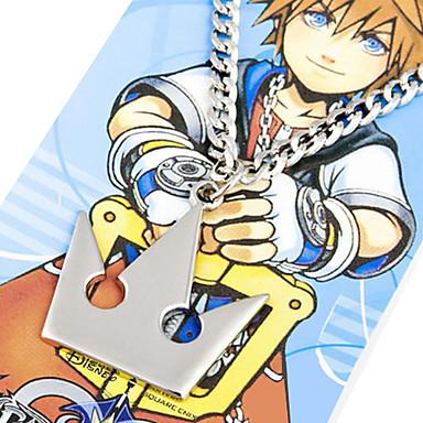 Bijuterii Inspirat de Kingdom Hearts Sora Anime / Jocuri Video Accesorii Cosplay Coliere Aliaj Bărbați Costume de Halloween