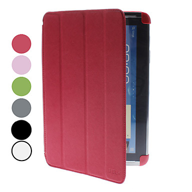 Case For Samsung Galaxy Samsung Galaxy Note with Stand Flip Origami Full Body Cases Solid Color PU Leather for Note 10.1 Tab 2 10.1