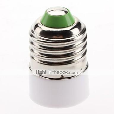 E27 a E14 E14 85-265 V Presa di luce Plastica
