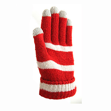 Produits Apple à tricoter Gants tactiles laine