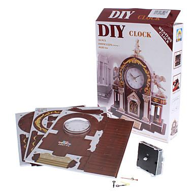 DIY 종이 3 차원 퍼즐 서부 경보 (38pcs 5의 어려움 4)