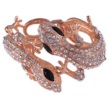 Clip Style Two Lizards Alloy Bracelet