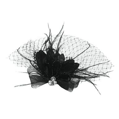 Tül / Kristal / Tüy  -  Tiaras / Kuş kafesi örtüleri 1 Düğün / Özel Anlar / Parti / Gece Başlık / Kumaş