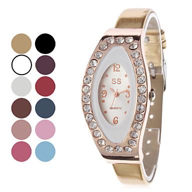 Modieuze stijl Women's PU Analoog Quartz Wrist Watch (verschillende kleuren)