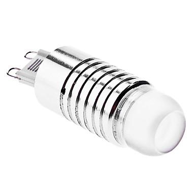 1.5W G9 Spot LED 1 LED Haute Puissance 90 lm Blanc Naturel AC 100-240 V