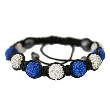 anden farve krystal perler knude armbånd (assorterede farver)