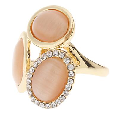 z&X® champagne diamant inläggningar ring
