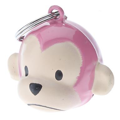 Estilo Pink Mono Collar Bell para Perros Gatos