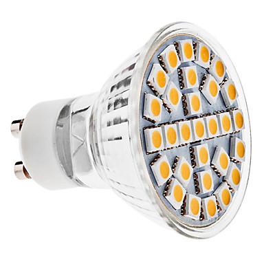 3W GU10 LED-spotlights MR16 29 SMD 5050 170 lm Varmvit AC 100-240 V