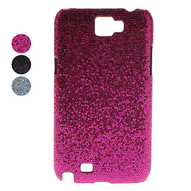Flash Design Faux Leather Coated Hard Case for Samsung Galaxy Note 2 N7100