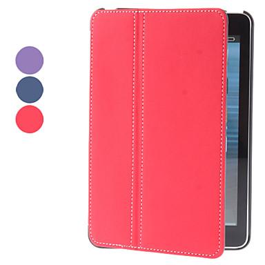 doek huid pu lederen case w / stand voor iPad mini 3, ipad mini 2, ipad mini (verschillende kleuren)