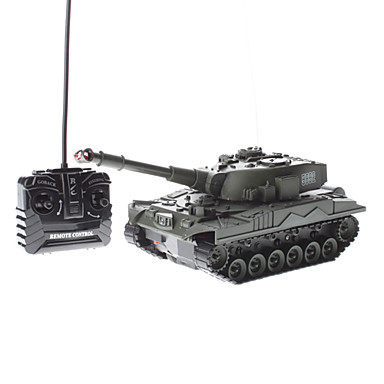 Army Green Rechargeable Remote Control Bettle Tank (Model: 5892)