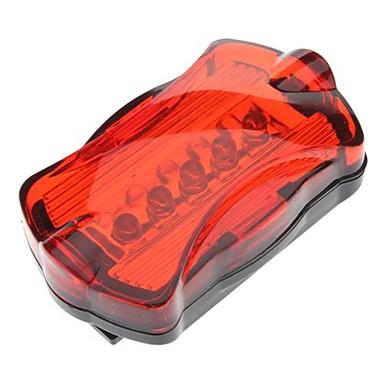 Nero + Luce rossa lampeggiante di sicurezza