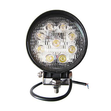27W rundă de 9 lumina de lucru LED-uri