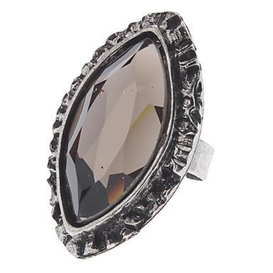 Z&X® 빈티지 스타일의 조각 후작 지르콘 크리스탈 반지