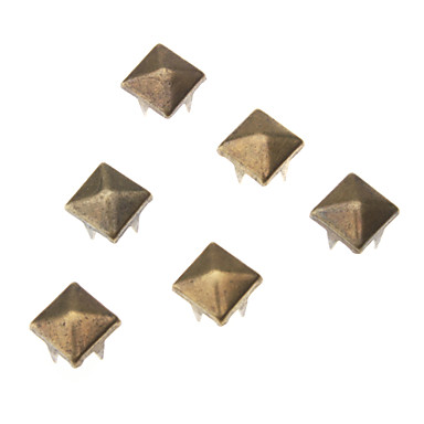 8mm Square Metal Rivet (Contain 100 Pics)