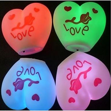 I Love You Design Colorful LED Night Light