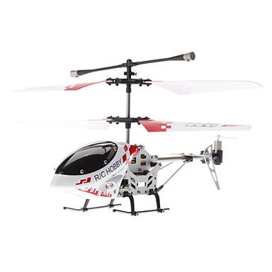 Palm Storlek 3,5-kanal Gyro fjärrkontroll helikopter med ljus (blandade färger, Modell: 323B)