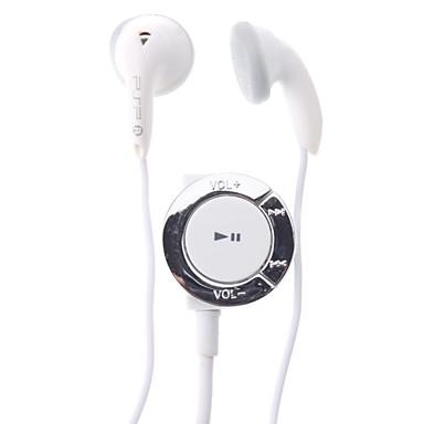 Fone de ouvido estéreo de 3,5 mm com painel de controle para PSP (Branco)