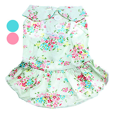 Dogs Textile Printing High Quality Lady Dresses (XS-XL,Assorted Color)