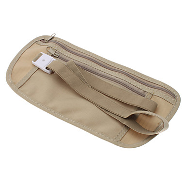 Nylon geschlossen-fit-Anti-Diebstahl Hüfttasche für die Reise