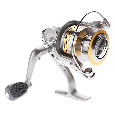 Silver Aluminum Spool / Computer Proyectado / Balancing System / cojinete de bolas Carrete