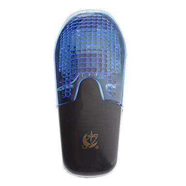 Schwarz Kunststoff 8 Sound / 7 Blinkende Modus Elektrische Horn für Fahrrad
