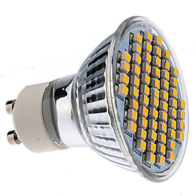 Foco LED Dirigido de Luz Tibia de 2800 - 3200K - GU10 3W 150-180Lm
