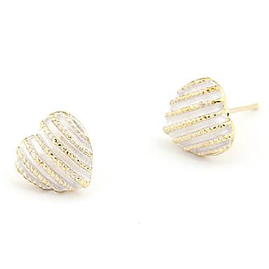Women's Stud Earrings Heart Alloy Heart Jewelry Daily