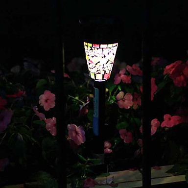 Mosaico Energia Solare Lampada Prato