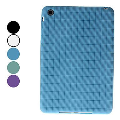 Gittermønster Soft Case for iPad Mini (Assorterte farger)