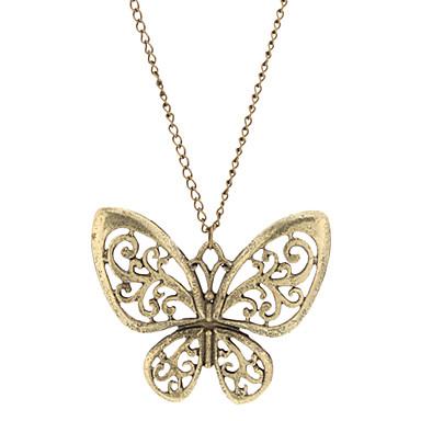 Vintage Butterfly Hollow Salida Collar