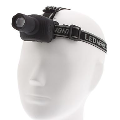 Lights LED Flashlights/Torch / Headlamps LED 1000 Lumens 3 Mode Cree XM-L T6 AAAAdjustable Focus / Waterproof / Small Size / Super Light