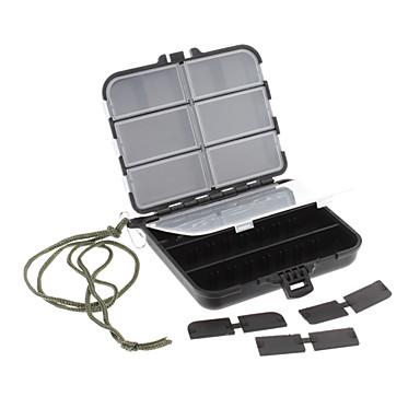 Big Size Plastic Waterproof Tool Box for Fishing(Black)