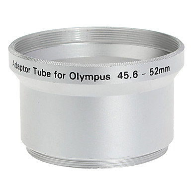 52mm Lens Tube Adapter for Olympus C-760/C-765/C-770/SP-500 Silver