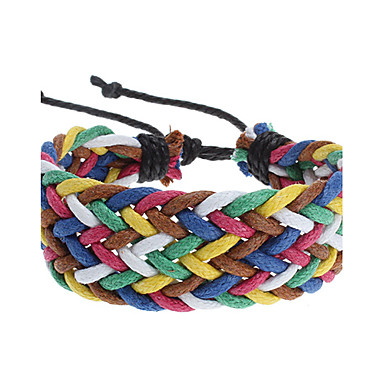 z&el color del caramelo x® cuerda tejer pulsera