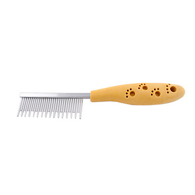 Stainless Steel Long And Short Style Pin Comb For Pet