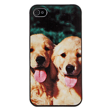 Cute Puppy Pattern Hard Case for iPhone 4/4S