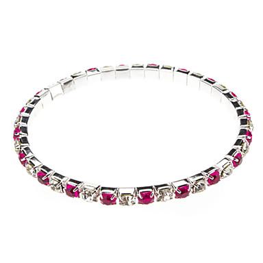 Single Row Drilling Fashion Bracelet