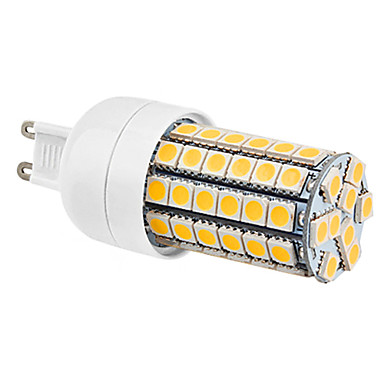 7W G9 LED Corn Lights 69 SMD 5050 630 lm Warm White AC 220-240 V
