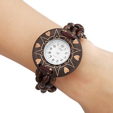 Women's Wood Analog Quartz Bracelet Watch (Brown) Cool Watches Unique Watches Fashion Watch