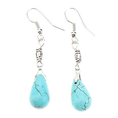 Kadın's Turkuaz - Turkuaz Moda Mavi Kolyeler Mücevher Uyumluluk Günlük