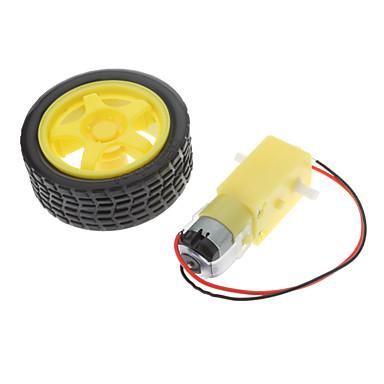 1: 48/1: 120 tt intelligent motoréducteur avec 65mm roue bricolage robotique châssis de voiture diy rc jouet kit