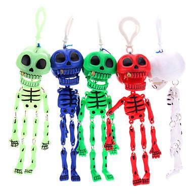 Crâne Keychain Skeleton (couleur aléatoire)