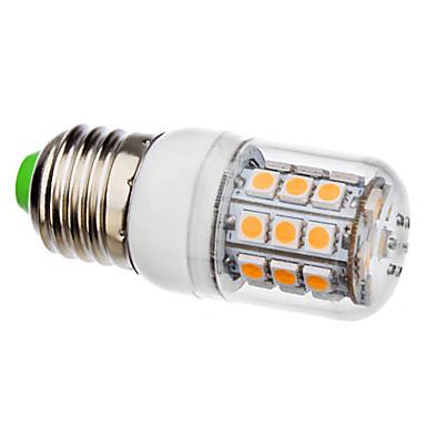 3500lm E26 / E27 Ampoules Maïs LED T 30 Perles LED SMD 5050 Blanc Chaud 110-130V 220-240V
