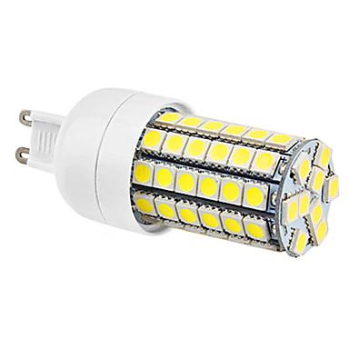 G9 7W 69x5050SMD 630LM 6000-6500K Branco Natural Lâmpada LED de milho (220-240V)
