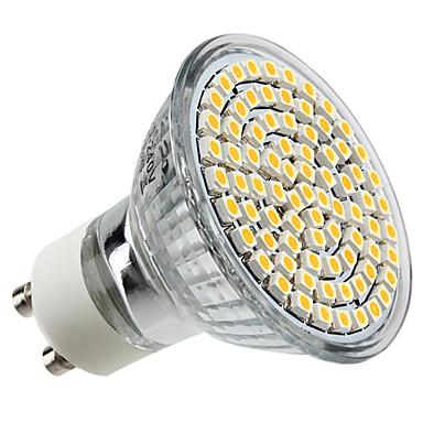 4W GU10 LED Spotlight MR16 80 LEDs SMD 3528 Warm White 2800lm 2800KK AC 220-240V